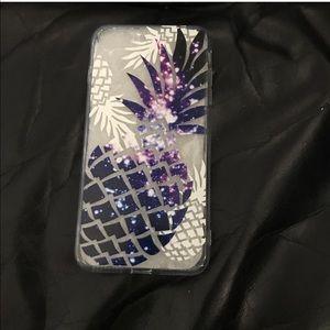 Pineapple galaxy case- IPhone 7plus